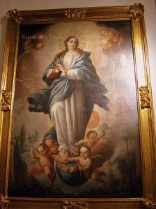 Inmaculada, Sala Mariana de la Pinacoteca de La Profesa. Firmada Por Antonio de Torres.