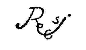 Firma apócrifa de Rodrigo de Cifuentes