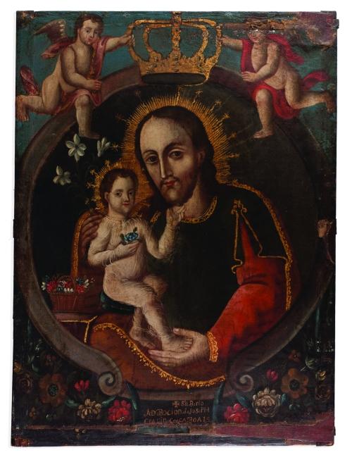 SAN JOSÉ CON JESÚS NIÑO