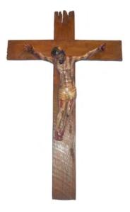 Anonimo Cristo Crucificado S XVIII