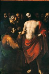La Incredulidad de Santo Tomás - Sebastián López de Arteaga