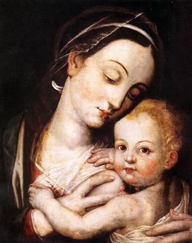 La Virgen de la Leche - Mateo Pérez de Alesio