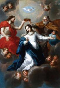 Nicolás Rodríguez Juárez - La_Coronación de la Virgen