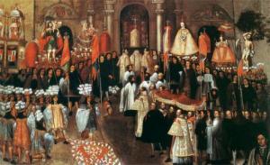 Procesion del Corpus Christi