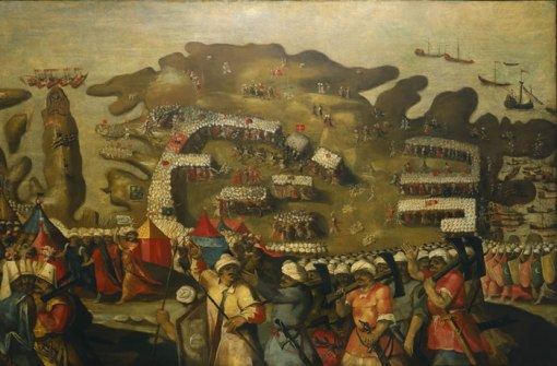 Siege of malta - Mateo Pérez de Alesio