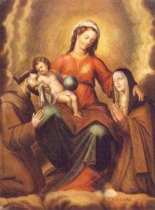 Virgen con el niño - Medoro