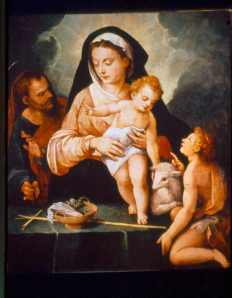 Andrés de Concha - Sagrada Familia