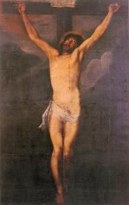 cristo en agonia Miguel de Santiago