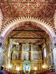 El Retablo de la Capilla del Rosario, Tunja