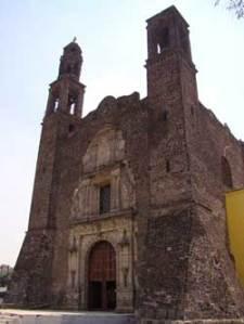 Fachada principal - Iglesia de Santiago Tlatelolco