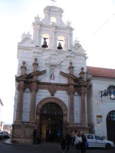 Hospital de Santa Barbara, Sucre, Bolivia