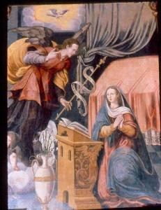 La Anuncación - Juan  de Arrúe