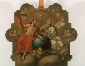 La Santísima Trinidad - José Nicolás de Escalera y Domínguez