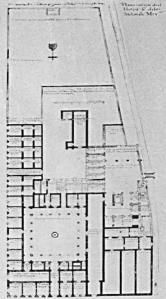 Plano del Hospital Real de Indios