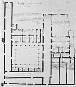 Planta Alta del Hospital Real de Indios