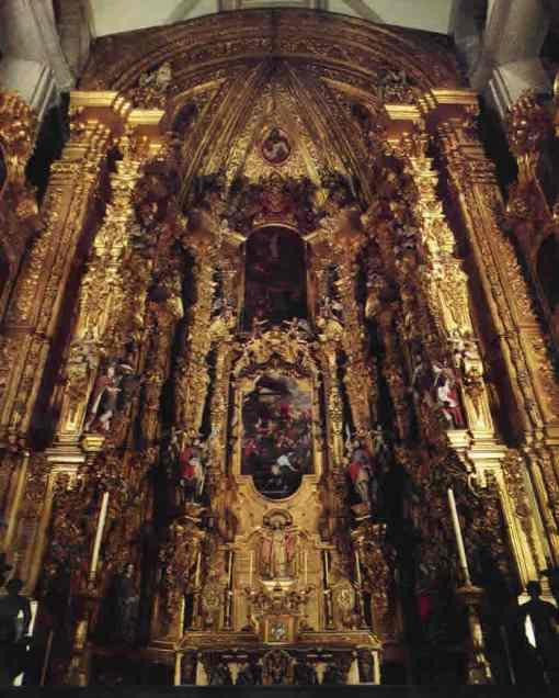 Retablo de los Reyes - Gerónimo de Balbás