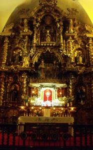 Altar de la Iglesia Jesús, María y José