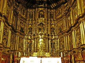 Altar Mayor de la Iglesia de San Francisco, Bogotá