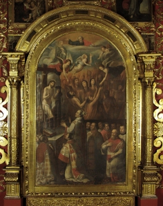 Baltasar de Figueroa Misa de San Gregorio
