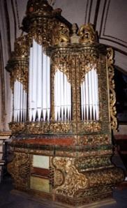 Órgano de la Basílica de la Soledad, Oaxaca, México
