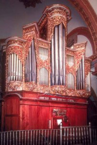 Órgano de la Catedral de Oaxaca, México
