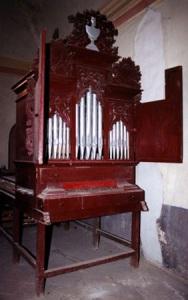 Órgano de San Andrés Huayapam, Oaxaca, México