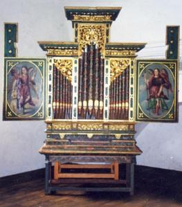 Órgano de San Andrés Zautla