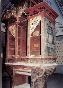 Órgano de San Dionisio Ocotepec, Oaxaca, México