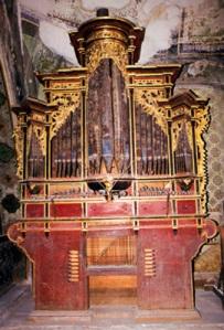 Órgano de Santa María Asunción, Tlacolula, Oaxaca, México