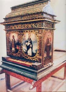 Órgano de Santa María de la Natividad Tamazulapan, Oaxaca, México