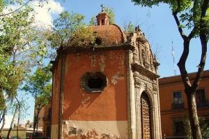 Capilla de la Concepción Cuepopan (La Conchita), Cuauhtémoc, ciudad de México