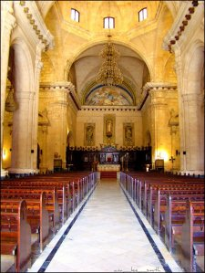 Catedral de La Habana, Cuba - Interior