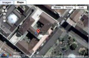 Catedral de Quito, Ecuador - Mapa