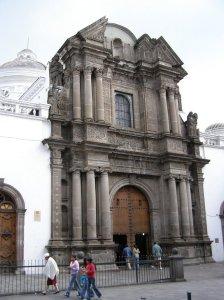 Fachada de la Iglesia El Sagrario