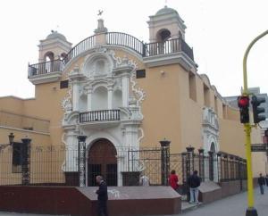 Iglesia de Jesús María, Lima, Perú