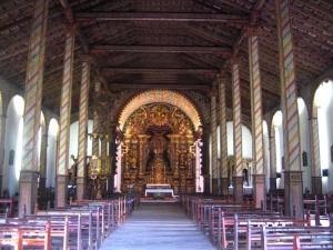 Iglesia de Yaguarón, Paraguay - Interior