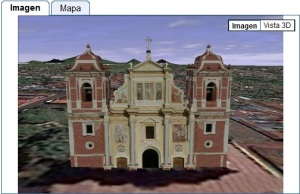 Iglesia del Calvario, León, Nicaragua - 3D