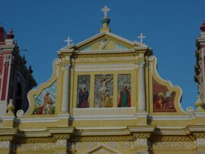 Iglesia del Calvario, León, Nicaragua - Detalle