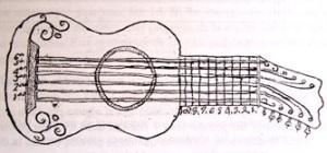 La guitarra en el siglo XVIII - Manuscrito de Oviedo