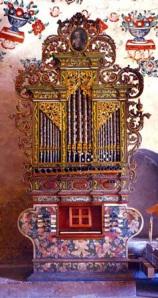 Organo de San Jerónimo Tlacochahuaya