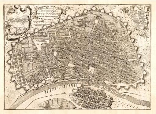 Plano de Lima. Pedro de Nolasco, 1687