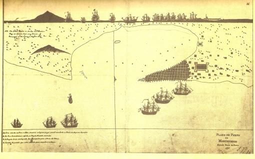 Plano del Puerto de Montevideo, 1775 (Anónimo).