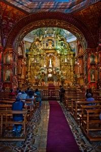 Retablo de la Iglesia de Santo Domingo, Quito