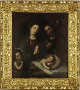 Sagrada Familia - Baltasar de Vargas Figueroa