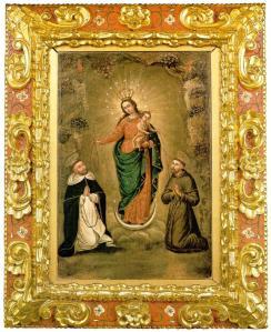 Virgen de las Lajas - fray Pedro Bedón