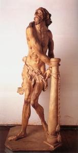 Cristo atado a la columna - Francisco das Chagas