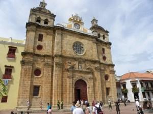 El  Colegio e Iglesia de la Compañía de Jesús, Cartagena, Colombia