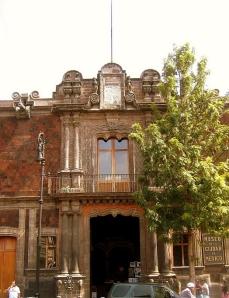 El Palacio De Los Condes de Santiago De Calimaya