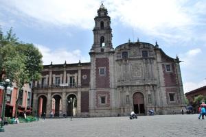 Iglesia de Santo Domingo, ciudad de México