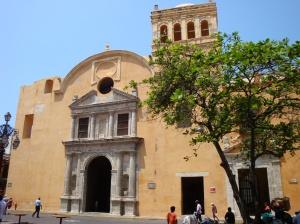 Iglesia Santo Domingo en Cartagena